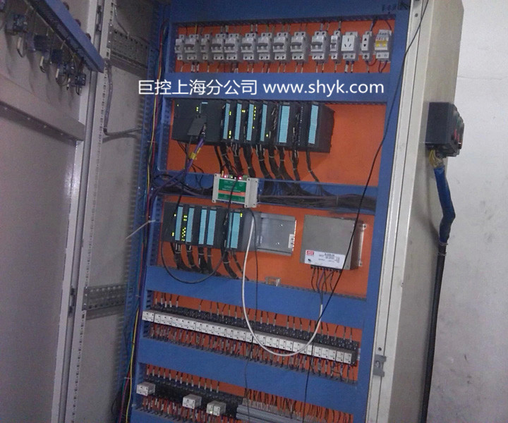 电柜简易接线图